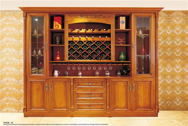 实木家具定制-酒柜系列